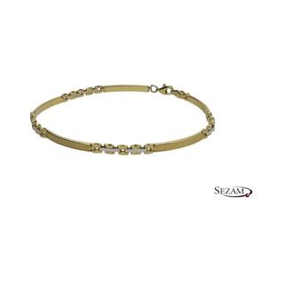 Bransoleta damska złota numer AR 200873-YW AU 585