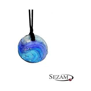 Naszyjnik wykonany ze szkła Murano numer KQ006