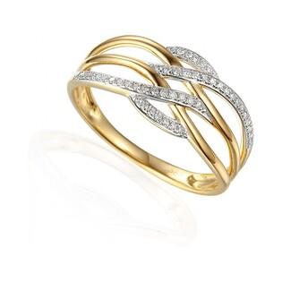Pierścionek zaręczynowy z diamentami nr AW 63723 Y Au 585 VENEZIA