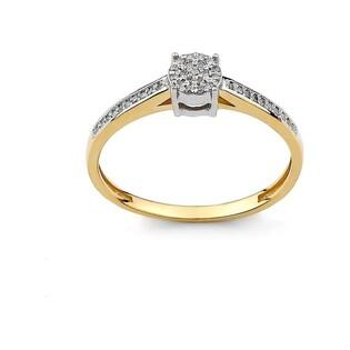 Pierścionek zaręczynowy z diamentami Mirage nr DI 330/05/B próba 585