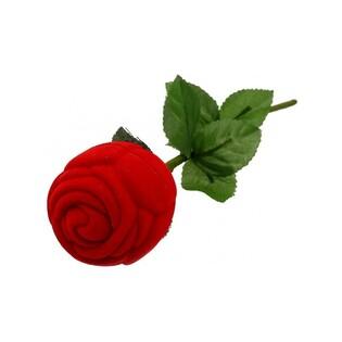 Opakowanie na pierścionek czerwona róża numer FU-62A/A7