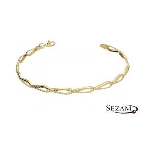 Bransoleta damska złota AR 9787 Au 333