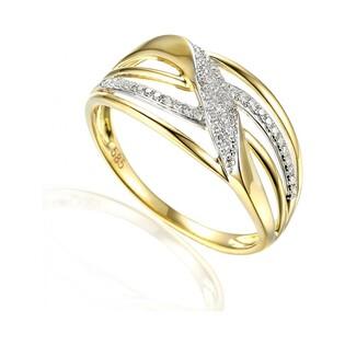 Pierścionek zaręczynowy z diamentami VENEZIA nr AW 64705 Y, 14 karat