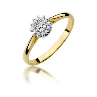 Pierścionek zaręczynowy z diamentami BE W-401 BRIDELL