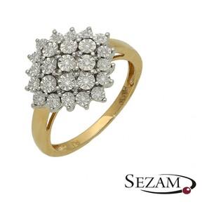 Pierścionek zaręczynowy z diamentami Bridell Magic nr RQ 421M
