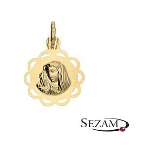 Medalik z Matką Boską Bolesną nr M/0656/1 próba 585