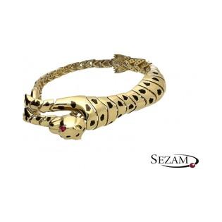 Bransoleta złota tygrys JA JP002 Au 585