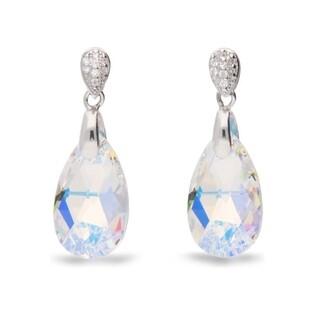 Kolczyki srebrne z kryształami Swarovski nr CQ KW610616AB