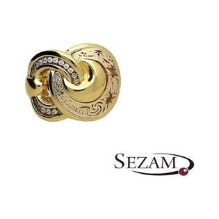 Pierścionek złoty z kolekcji Graziella nr PF PF133