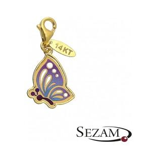 Charms złoty motyl z kolekcji Graziella nr PF PF136