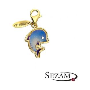 Charms złoty delfin kolekcja Graziella nr PF PF140