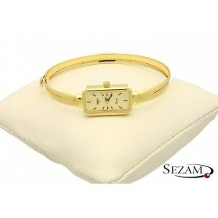 Zegarek złoty typu bangla nr PF GENEVE 172/1