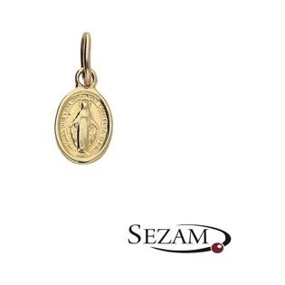 Medalik złoty z wizerunkiem nr OS OS 96-H034 Au 585