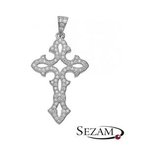 Krzyżyk srebrny damski nr OA F1290