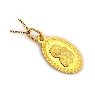 Medalik złoty Matka Boska Częstochowska nr CI 4231 Au 585