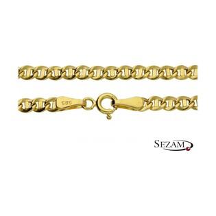 Łańcuszek złoty splot typu gucci nr OP OP516 100 próba 585