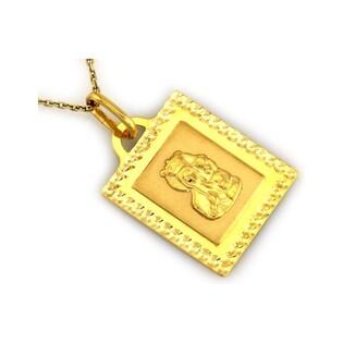 Medalik złoty Matka Boska Częstochowska nr CI 3787 Au 333
