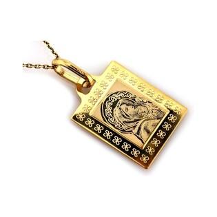 Medalik złoty z wizerunkiem Matki Boskiej z Dzieciątkiem nr CI 4261 Au 333