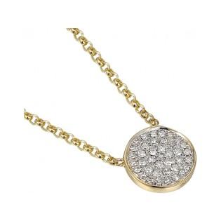 Naszyjnik złoty kolekcja Happy diamond z diamentami nr AW 05793 Y