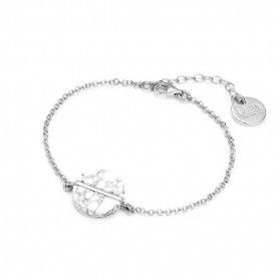 Bransoleta srebrna z howlitem nr ZJ 4105-HOW