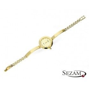 Zegarek damski złoty okrągły nr OP GENEVE 175 Au 585