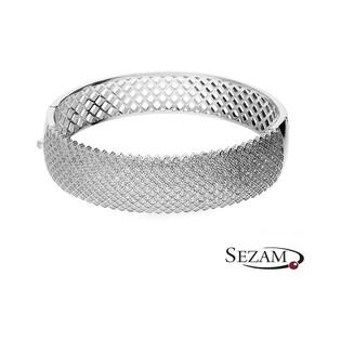 Bransoleta srebrna z cyrkoniami nr A0 AUR 029