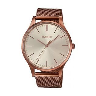 Zegarek Casio Vintage  Insta shape różowo-złoty LTP-E140R-9AEF