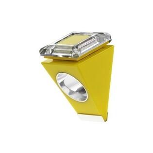 Pierścionek BIG RING żółty z kwadratowym kryształem OU_bigring1_żółty