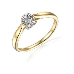 Pierścionek zaręczynowy z AMADO Magic z diamentem nr AW 67072 YW