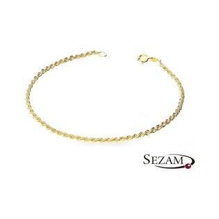 Bransoleta złota typu korda nr VK V-CORDALAS 040 AU 333