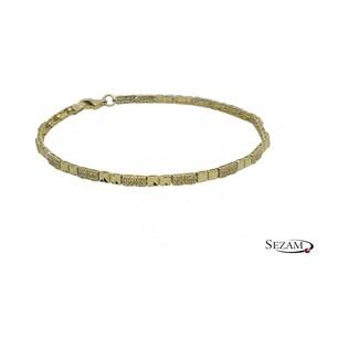 Bransoleta damska złota z cyrkoniami numer AR X8-VX7ZB0033-DC próba 333
