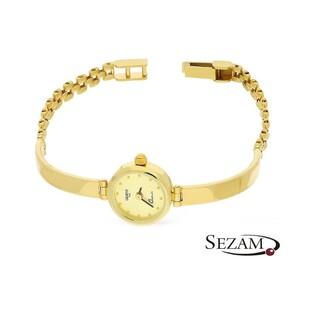 Zegarek złoty półsztywny nr MI GENEVE SM008 Au 585