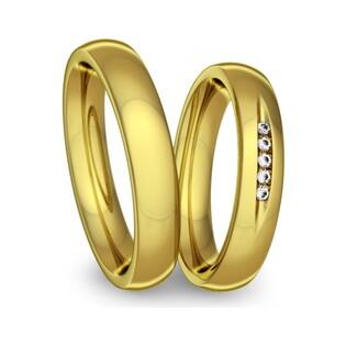 Obrączki złote jednokolorowe nr A9 050WR Sezam - 1