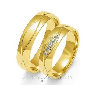 Obrączki ślubne nr ZO O-113 Sezam - 1