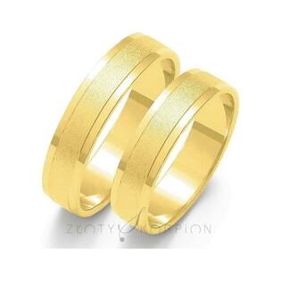 Obrączki ślubne nr ZO O-16 Sezam - 1