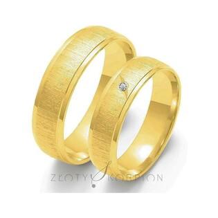 Obrączki ślubne nr ZO O-23 Sezam - 1