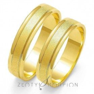 Obrączki ślubne nr ZO O-4 Sezam - 1