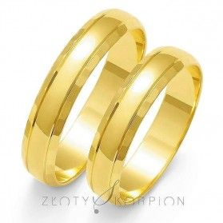 Obrączki ślubne nr ZO O-8 Sezam - 1