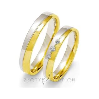 Obrączki ślubne nr ZO OE-200 Sezam - 1