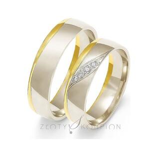 Obrączki ślubne nr ZO OE-207 Sezam - 1