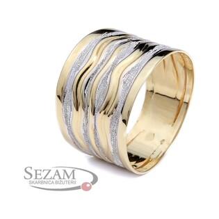 Pierścionek złoty typu blaszka nr AR 207065 próba 333