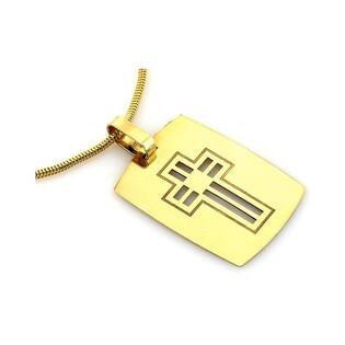Medalik złoty nr CI 2682A próby 585