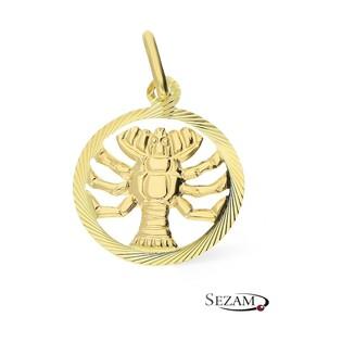 Złoty zodiak Rak nr BC BC064 próba 585