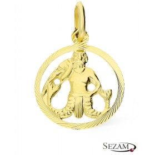 Złoty zodiak Wodnik nr BC BC064 próba 585