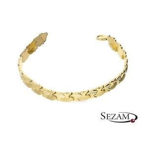 Bransoleta złota Stampato OP046 próba 585