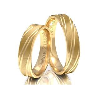 Obrączki ślubne z kamieniami nr ZI R-04 Sezam - 1