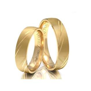 Obrączki ślubne z kamieniami nr ZI R-08 Sezam - 1