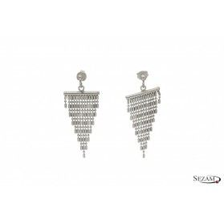 Kolczyki srebrne z kolekcji Karmen numer OR9018A/silver
