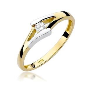 Pierścionek zaręczynowy z diamentem nr BE W-250 BRAID