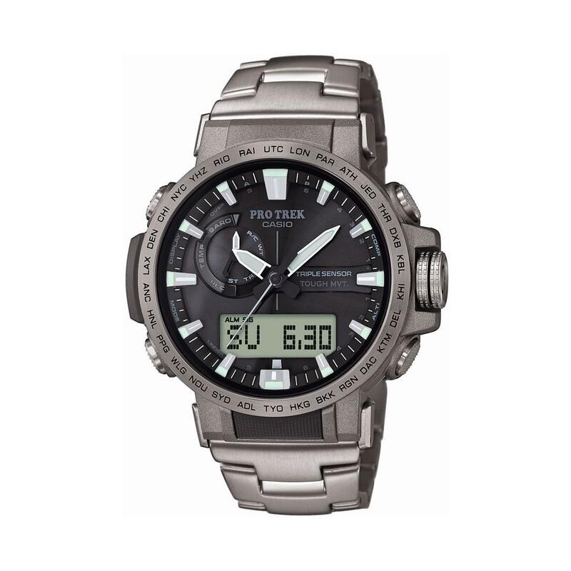 Zegarek CASIO Pro-Trek M ZB PRW-60T-7AER Casio - 1